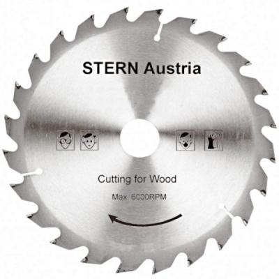 Disc pentru lemn Stern 24 dinti 185mm SBT18524
