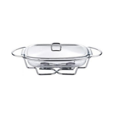Dish Vas Pastrare Mancare la Cald Sticla Termorezistenta 2.9L BH2008