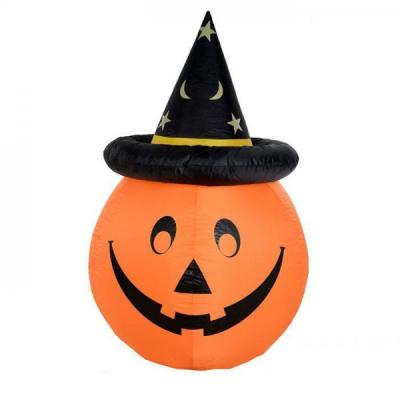 Dovleac Halloween Autogonflabil Iluminat 1.2m 220V
