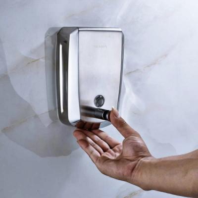 Dozator manual sapun lichid din INOX Satinat 500ml Trendy's DZ500D