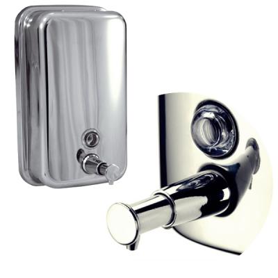Dozator manual sapun lichid din otel inoxidabil 500ml  Trendy's DZ500L