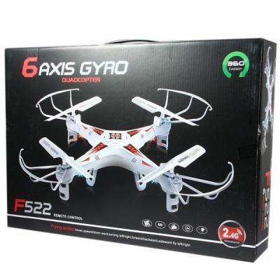 Drona 2.4G 4 Canale 6 Axe Iluminata Quadcopter F522