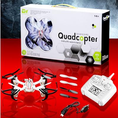 Drona Quadcopter Mini RC GWX01 4 Canale 6 Axe Iluminata