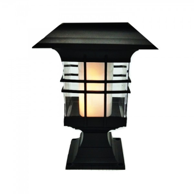 Felinar de Gradina Lampa Solara LED cu Efect Flacara cu Picior BH6077