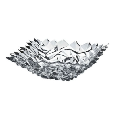 Fructiera din Cristal de Bohemia Glacier 28cm