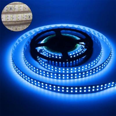 Furtun Luminos cu Banda 1200 LEDuri SMD3014 Albastre Rola 5m TKO