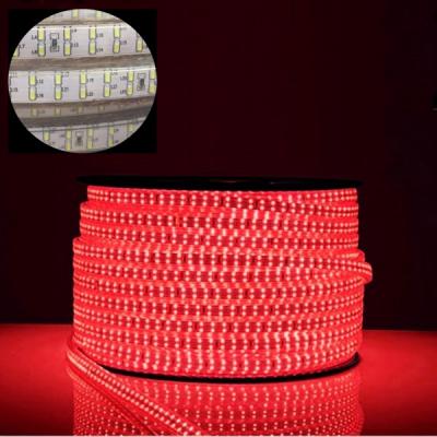 Furtun Luminos cu Banda 24000 LEDuri SMD3014 Rosii Rola 100m TKO