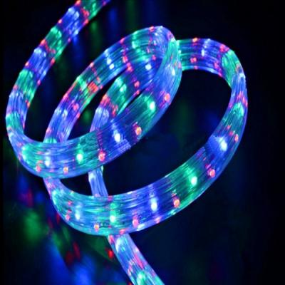 Furtun Luminos Rectangular 2 Canale 3 Fire 100m 2300LED Multicolor TO