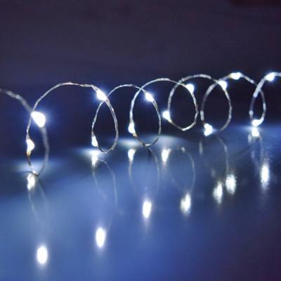 Ghirlanda Luminoasa Buchet 8 Fire 2m 160LED Alb Rece 12V IP20