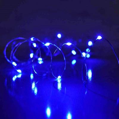 Ghirlanda Luminoasa Buchet 8 Fire 2m 160LED Albastre 12V IP20