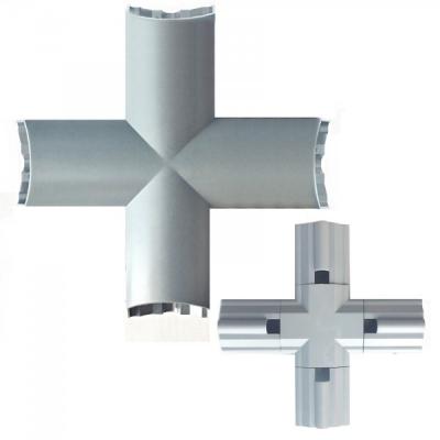 Imbinare Cruce pentru Bagheta Tub LED Modular