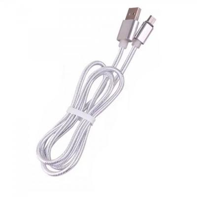 Incarcator si Cablu de date  USB la Micro USB Invelis Nylon 100cm