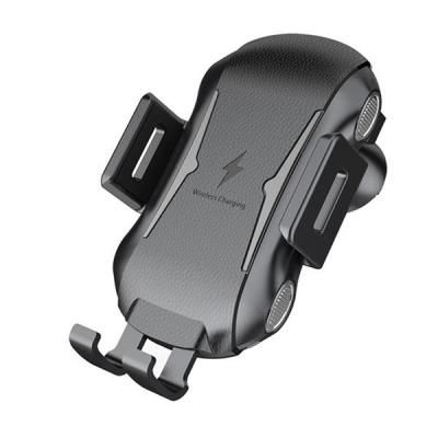 Incarcator Wireless Auto cu Senzor, Clema Grila Ventilatie EC41429