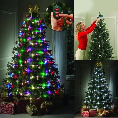 Instalatie Luminoasa Brad de Craciun 48 LED Jocuri Lumini Tree Dazzler