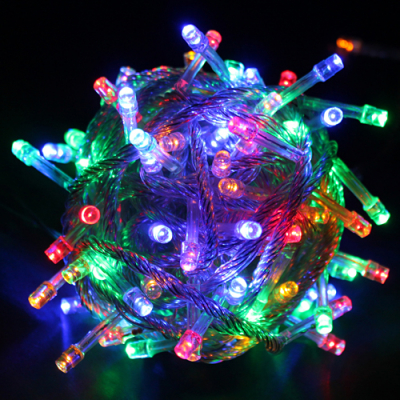 Instalatie Luminoasa Brazi de Craciun 100 LED Multicolore