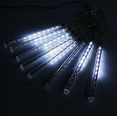 Instalatii de Craciun 72 LED 6 Turturi Interconectabili 23cm Alb Rece