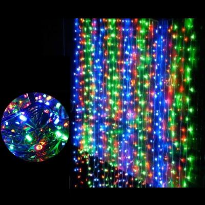 Instalatii Craciun Ext. Digitale Perdea 6x3 1120LED Multicolore 3147