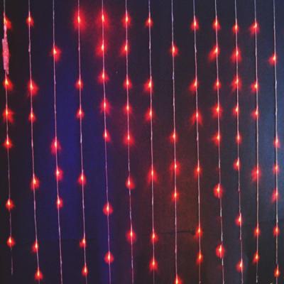 Instalatii Craciun Exterior Digitale Perdea 3x2.5m 512LED Rosie 6019