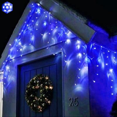 Instalatii Craciun Franjuri 3x0.7m 100LED 7in1 Albastru FN P EXT