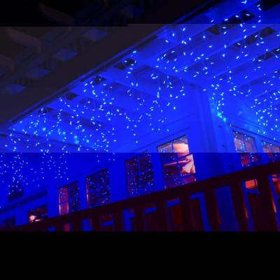 Instalatii de Craciun Franjuri 8mx0.9 252LED Albastru FA P Flash 9012
