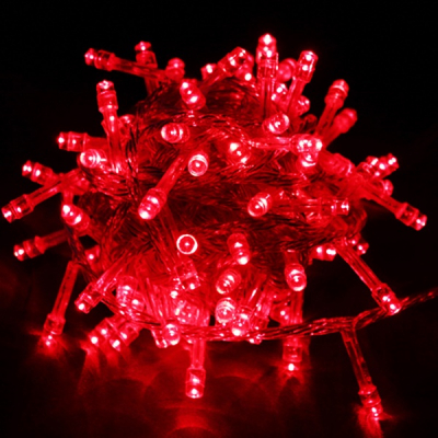 Instalatii Luminoase Craciun Snur 16m 200LED Rosu FI NP 6023
