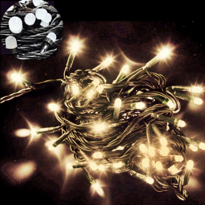 Instalatii Luminoase Craciun Snur 30m 300LED Alb Cald FN NP I8049