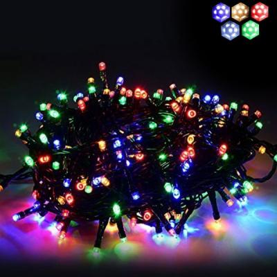 Instalatii Luminoase Craciun Snur 6m 60LED 7in1 Multicolor FN P 5814