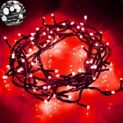 Instalatii Luminoase Craciun Snur 6m 60LED Rosu FN NP I8046