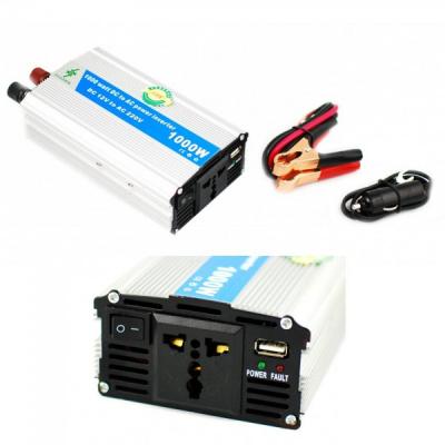 Invertor Auto 12V la 220V 1000W Chaomin cu USB Clesti Priza 220V si 12V