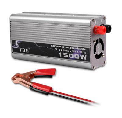 Invertor Auto 12V la 220V 1500W Cabluri Clesti TBE
