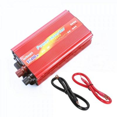 Invertor Auto 12V la 220V si USB 1500W Constant Max.875W Fara Clesti