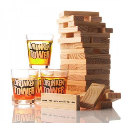 Joc de Societate Petreceri cu Shoturi Drunken Tower