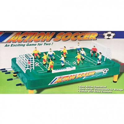 Joc Fotbal de masa cu Toate Accesoriile Tije Fata-Spate Action Soccer