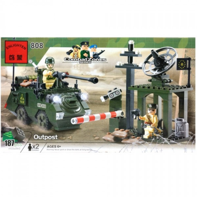 Joc tip Lego Avanpost Enlighten 808 cu 187 Piese