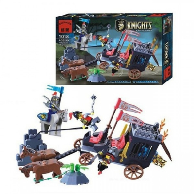 Joc tip Lego Cavaleri Enlighten 1018 cu 160 Piese