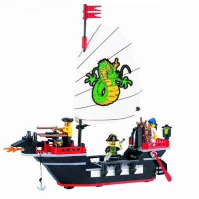 Joc tip Lego Nava Pirati Enlighten 301 cu 211 Piese