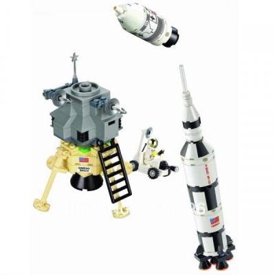 Joc tip Lego Racheta Spatiala Enlighten 511 cu 229 Piese