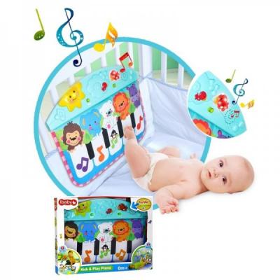 Jucarie Muzicala Patut Bebe Pian Kick&Play Ibaby 68130