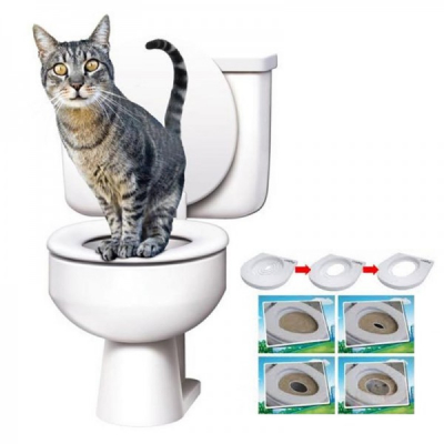 Kit de Educare al Pisicilor la toaleta CitiKitty