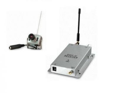 Kit Minicamera Wireless Supraveghere 803c a v cu Receiver