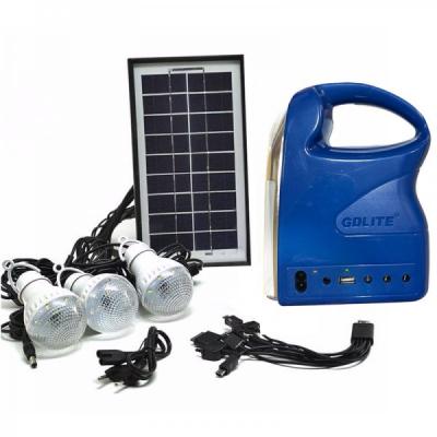 Kit Solar Lanterna LED USB 3 Becuri 220V GdLite 7