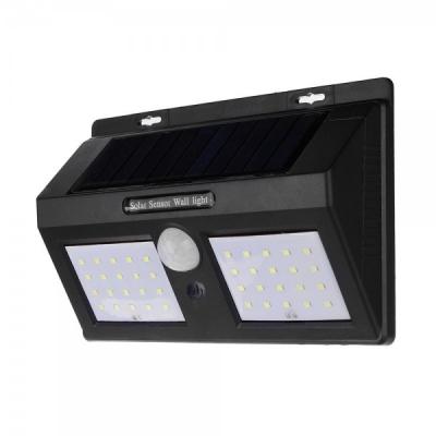 Lampa 40LED Incarcare Solara Senzori Miscare si Lumina, On/Off 1 Faza