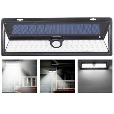 Lampa 90LED Incarcare Solara cu Senzor de Miscare si Lumina, On/Off
