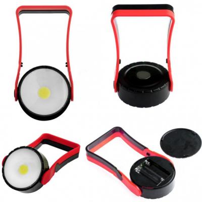 Lampa de Lucru Rotunda cu COB LED 3W cu Magnet, Suport si Agatatoare