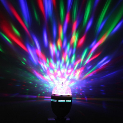 Lampa Glob Disco Rotativ Veioza Lumini Multicolore 3W 220V 7846A