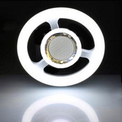 Lampa LED 24W 26cm Alb Rece E27cu Boxa Muzica Bluetooth
