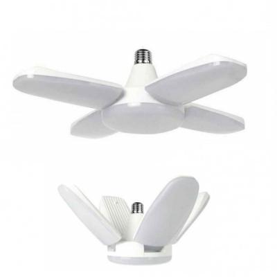 Lampa LED cu 4 Brate Mobile Ajustabile Fan Blade E27 3000K 80W KK016