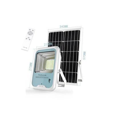 Lampa LED cu Panou Solar, Telecomanda, Senzor 6500K 100W LEDLPS10024W