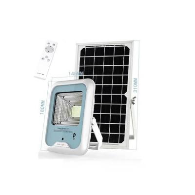 Lampa LED cu Panou Solar, Telecomanda, Senzor 6500K 30W LEDLPS3008W