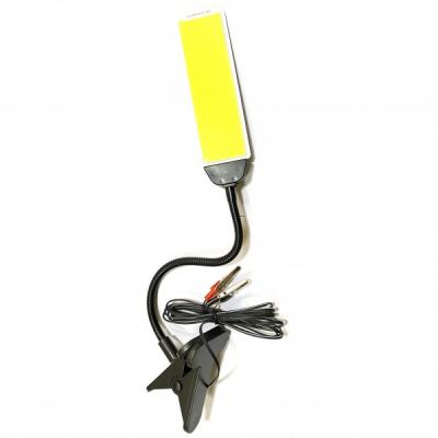 Lampa Lucru Panou COB LED Clips Cabluri Clesti 12V 30W CC2002